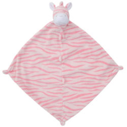 Angel Dear Pink Zebra Lovie